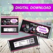 Thomas The Train Ashima Candy Bar Wrappers, Hershey Bar Wrappers, party favor - PRINTABLE INSTANT DOWNLOAD