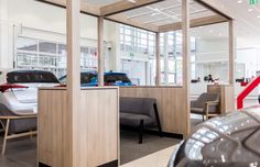 Duropal Style Oak Cinnamon laminate used for this shop fit out.
