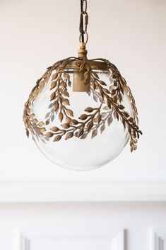 Orb Pendant Light, Glass Pendant Shades, Ceiling Pendant, Glass Pendants, Pendant Lamp, Globe Ceiling Light, Ceiling Lights, Vintage Pendant Lighting, Glass Globe