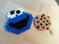 Cookie Monster - Sesame Street hama beads by Thea P.
