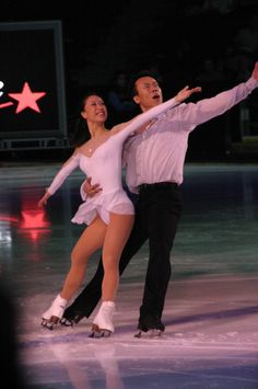 Figure Skaters Xue Shen & Hongbo Zhao of China skate to The Impossible Dream at Canadian Stars on Ice #sports #people
