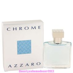 CHROME Cologne By Azzaro 1.0 (30 ml.) Eau De Toilette Spray for Men NEW IN BOX #Azzaro