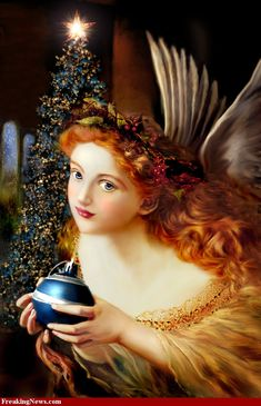 ❤Así era el ángel de Andrea.Con el cabello rojo,!!!!!Lo recuerdo.!!!!!.