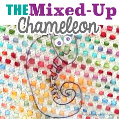 A fun hide-and-seek activity based on Eric Carle's popular book, The Mixed-Up Chameleon!