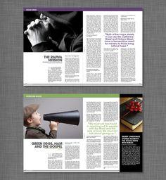 Testimony Magazine Redesign on Behance