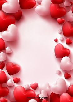 Valentines Day Border, Happy Valentines Day Card, Valentines Day Background, Valentines Day Hearts, Valentines Day Decorations, Valentine Poster, Love Background Images, Love Backgrounds, Background Red
