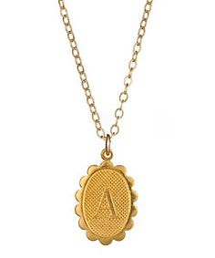 Want your love to know that you carry them with you everywhere? Well now you can! Initial Necklace from Max and Chloe
