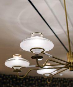 Angeline by Parts and Labor Design Dj Lighting, Types Of Lighting, Interior Lighting, Lighting Design, Pendant Chandelier, Pendant Lighting, Lamp Light, Light Up, Ceiling Lamp