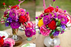 Vibrant Farmers Market Flowers. Pinned for structure/style/texture (not color).