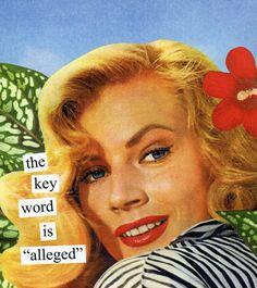 key word #AnneTaintor #humor #retro