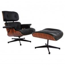 The Base Is Available In A Partly Polished, Fully Polished And Black  Lacquered Version. The Charles Eames Lounge Chair