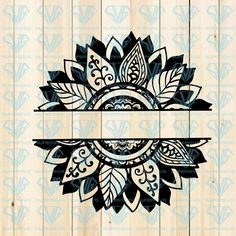 Sunflower Split Name, Sunflower, MANDALA Monogram Svg, Svg - Cricut - I do not like cancer here or there, I do not like cancer anywhere – svglandstore - Cricut Iron On Vinyl, Flower Svg, Cricut Craft Room, Mandala Drawing, Cricut Creations, Sunflower Mandala Tattoo, Sunflower Stencil, Vinyl Crafts, Mandala Design