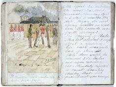 Norfolk Island,  flogging 1823, Australian History. v@e