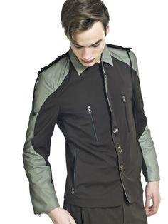 Kolekce Free Circle - Monika Drápalová Rain Jacket, Windbreaker, Raincoat, Model, Jackets, Free, Fashion, Down Jackets, Moda