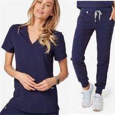 Wear Figs Navy Scrub Jogger Set XXS/XS Dental Hygiene Student, Dental Hygienist, Nursing Goals, Navy Scrubs, Nursing Scrubs, Scrub Sets, Future Career, Figs, Style Ideas