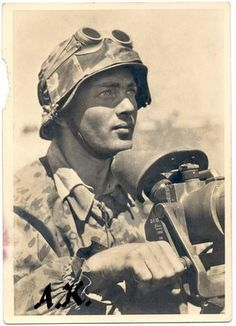 Waffen-SS Grenadier/Postcard