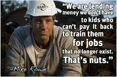 [WATCH] Mike Rowe On Income Inequality