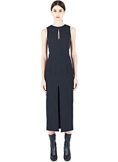 Acne Studios Vegan Sandie Flu Cady Dress