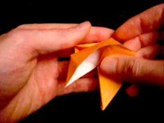 3D origami Christmas star