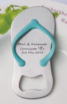 7a7f51e443ea4b Get flip flop bottle opener wedding favours from original manufacturer in  China.