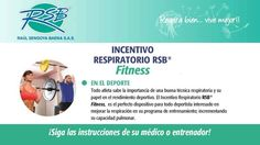 INCENTIVO RESPIRATORIO FITNESS - DEPORTE Y ENTRENAMIENTO Respira bien, Vive mejor! www.raulsendoya.com #IncentivoRespiratorio #IncentiveSpirometer #Inspirometro #Fitness #Exercise #Salud #Respiracion #RespiratoryCare #EstimuladorRespiratorio #EjercitadorRespiratorio #Gym #Gimnasio #Training #LungTrainer