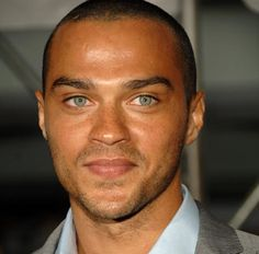Jesse Williams is very sexy. Who wouldn't like a black guy with freckles and green eyes?!?!