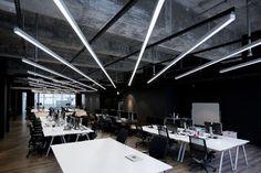 Hong Kong Warehouse Converted to Creative Office Space - http://freshome.com/hong-kong-warehouse-creative-office-space/