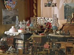 "Frida Kahlo's Toys and Dolls Collection at ""La Casa Azul, Frida Kahlo Museum (Mexico. 2012)"