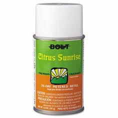 Bolt Metered Air Freshener Refill, Citrus Sunrise, 5.3oz, 12/Carton (BOL863) | Clean It Supply