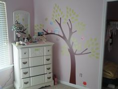 """""""We had to switch one branch to the other side because of the dresser but it turned out GREAT and is the perfect finishing touch to our nursery! Thanks so much Dali Wall Decals!!"""" - Jocelyn B.    Check out more awesome designs at www.dalidecals.com"""