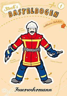 """Hampelmann Stock Bastelbogen """"Feuerwehrmann"""", http://www.amazon.de/dp/B00LM4L20U/ref=cm_sw_r_pi_awdl_RuoTwb02N81NT"""