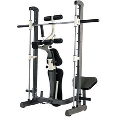 Lift heavy, don't compromise on build quality. The Tunturi Pure Strength range of compact robust home gym equipment - introducing the fold up Pure Half Smith Machine Bench with linear ball bearings from the collection.