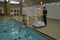 Pool Access Hoists supplied by Dolphin Mobility