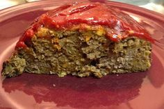 Veggie Packed Meatloaf