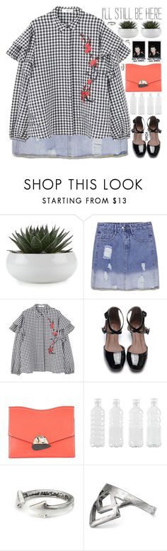 """""""be the reason someone believes in the goodness of people"""" by exco ❤ liked on Polyvore featuring MANGO, Proenza Schouler, Seletti, Polaroid, clean, organized, yoins, yoinscollection and loveyoins"""