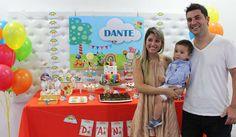 Violeta Glace 's Birthday / Baby TV - Photo Gallery at Catch My Party Baby Boy 1st Birthday, Tv, Baby Ideas, Birthday Parties, Rainbow, Cakes, Projects, Second Grade, Ideas Aniversario