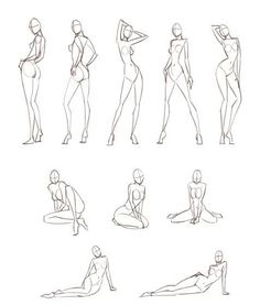 awesome Feminine poses, copying these for fashion sketches is really effective... by http://www.polyvorebydana.us/fashion-sketches/feminine-poses-copying-these-for-fashion-sketches-is-really-effective/