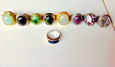 My Gemstone Rings collection