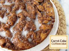 Carrot Cake Coffee Cake - Crazy for Crust