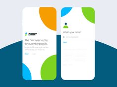 Mobile on boarding for finance startup