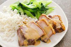 Weekend Recipe: Crispy Slow-Roasted Pork Belly | KCET Roasted Pork Belly Recipe, Pork Belly Recipes, Kitchen Recipes, Cooking Recipes, Meat Recipes, Rabbit Recipes, Primal Recipes, Yummy Recipes, Dinner Recipes