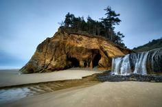 Beach in Oregon