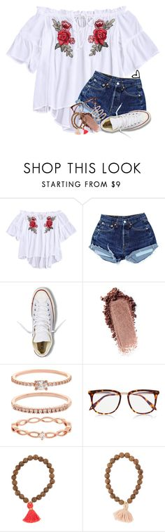 """&&; I'm getting tanner everyday"" by abbypj ❤ liked on Polyvore featuring Converse, Accessorize and Victoria Beckham"