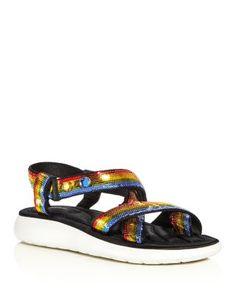 MARC JACOBS-MARC JACOBS Comet Embellished Strappy Platform Sandals #Shoes #Sandals #MARC JACOBS