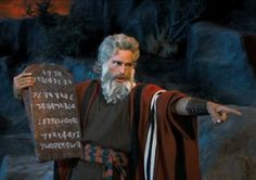 Moses and his tablets