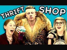 TEENS REACT TO THRIFT SHOP (Macklemore & Ryan Lewis) - YouTube
