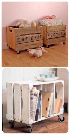 Salut à tous!  Le principe du recyclage est simple: faire du neuf avec du vieux. En décoration, le principe s'applique aussi.  C'est pourquoi nous vous avons sélectionné 10 idées décoration à réaliser à partir d'autres objets! Vive …