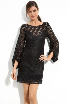 Laundry by Shelli Segal 'Sand Dollar' Lace Shift Dress | Nordstrom