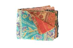 kantha quilt vintage kantha quilt indian quilt bed by fairlyworn, $105.00