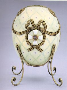 The Order of St George Egg - Presented by Tsar Nicholas II to his mother the Dowager Empress Maria Feodorovna at Easter Tsar Nicolas Ii, Tsar Nicholas, Fabrege Eggs, Saint Georges, Egg Designs, Egg Art, Royal Jewels, Objet D'art, Jewelry